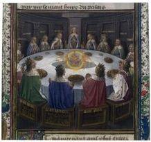 Nom des chevaliers de la table ronde culture g n rale - Dessin anime chevalier de la table ronde ...