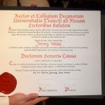 Doctorat honoris causa : un diplôme d'honneur