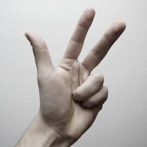 3 doigts