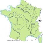 Nombre de cours d'eau en France